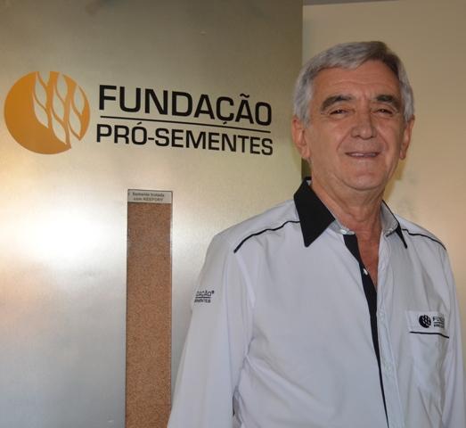 Airton França Lange é engenheiro agrônomo da Fundação Pró-Sementes