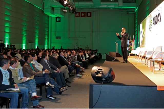O congresso ANDAV é um evento de negócios restrito a profissionais do setor - Crédito Divulgação