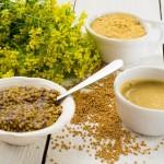 Mostarda – condimento de sabor suave a picante