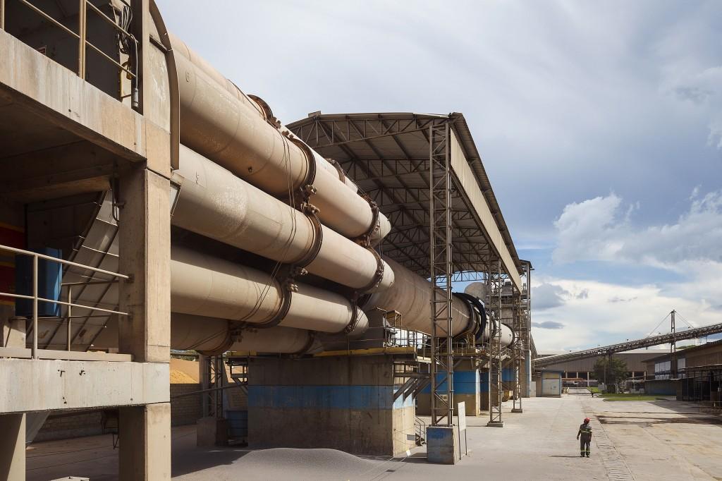 VOTORANTIM CIMENTOS - 09/04/2015 - Fábrica Unidade Nobres, Mato Grosso. Foto: Leonardo Rodrigues
