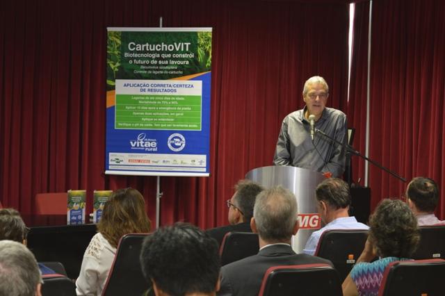 Paulo Bittar falou das vantagens do CartuchoVIT - Crédito Guilherme Viana