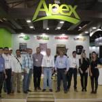 Apex leva novidades para Holambra