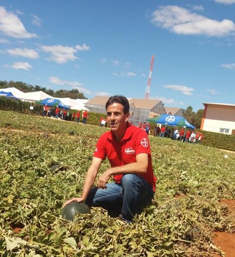Ailton Ribeiro, diretor de pesquisa de melancia - Créditos Divulgação