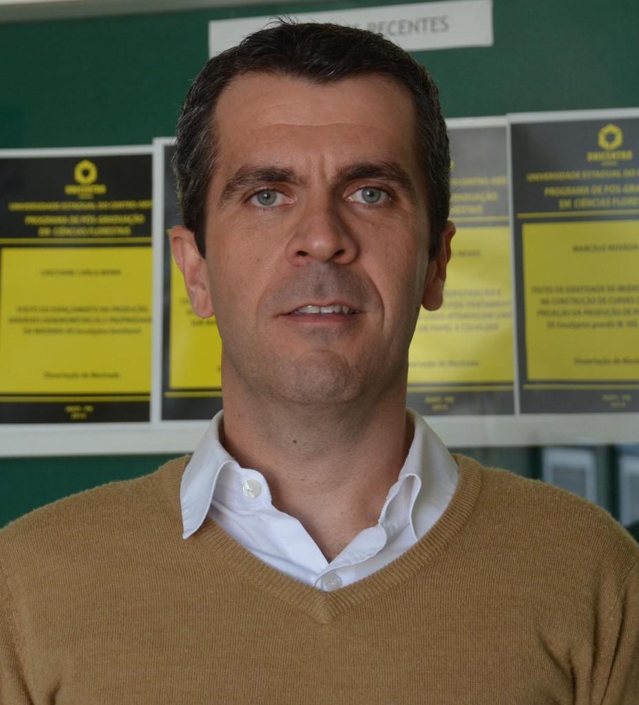 Evandro Tambarussi, professor da Unicentro - Crédito Arquivo pessoal