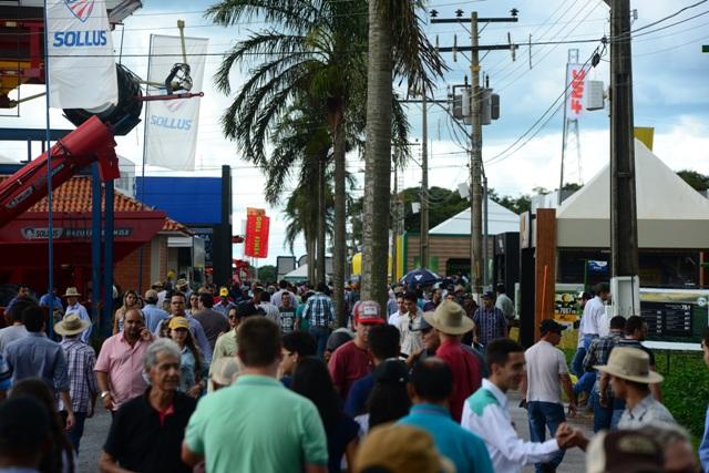 É esperado um número superior a 110 mil visitantes - Crédito Divulgação