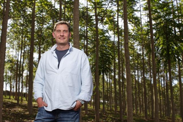Ricardo Vilela, diretor da fazenda Bela Vista Florestal e presidente da ProCedro. Foto: RODRIGO LIMA / NITRO.