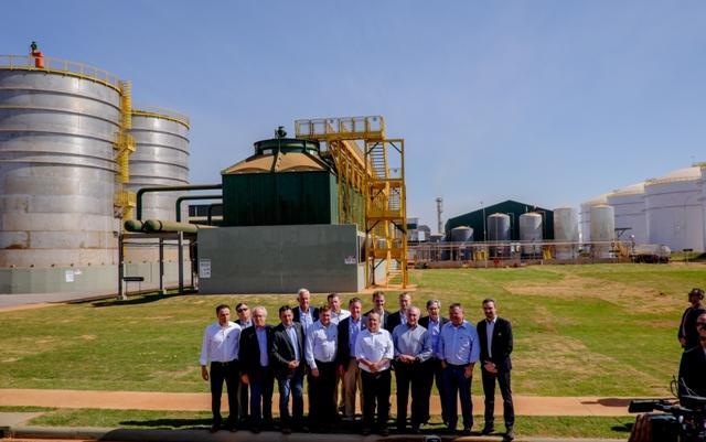 A FS Bioenergia é a primeira usina de etanol 100% do milho do Brasil - Crédito FS Bioenergia