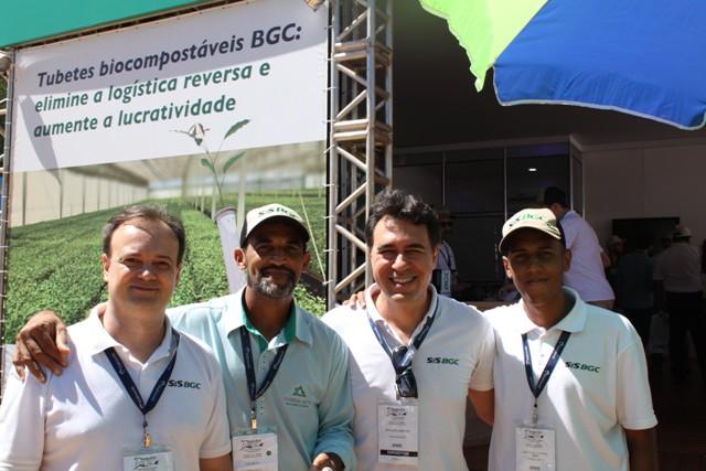 Equipe presente no evento - Fotos Fransérgio Leão