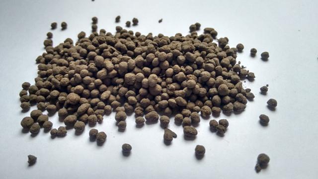 Composto orgânico granulado - Crédito Letícia de Abreu Faria