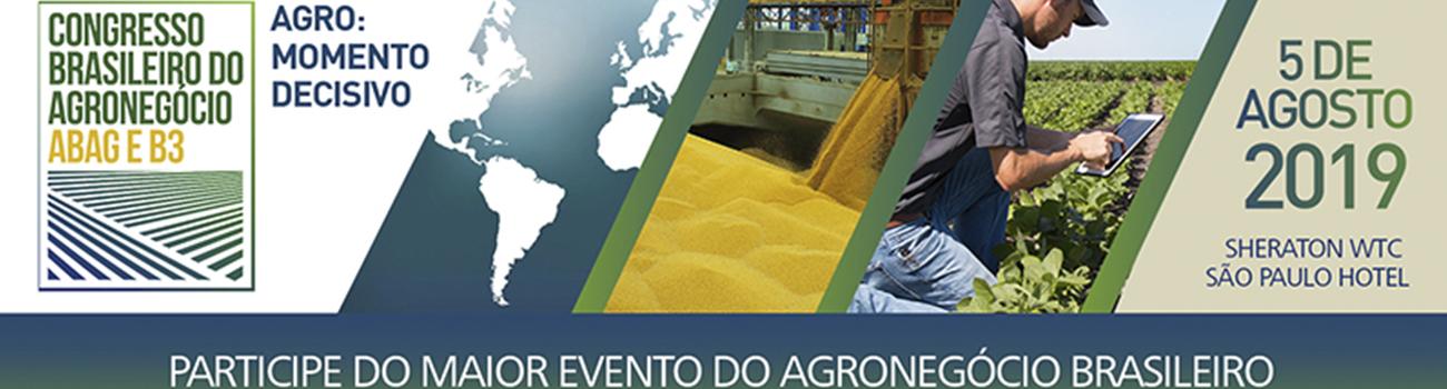congresso brasileiro do agronegócio 2019