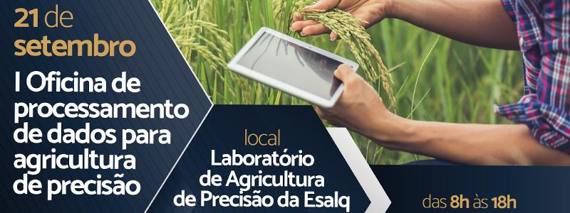 I OFICINA DE PROCESSAMENTO DE DADOS PARA AGRICULTURA DE PRECISÃO